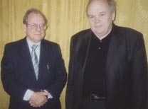 With Academician E.P. Velikhov
