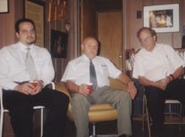 Baluevsky in Stone's basement on August 9, 2001