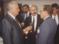 With Gorbachev in retirement