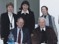 With Roy Medvedev seated