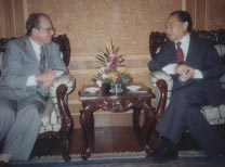 With Wang Daohan, China's Negotiator with Taiwan