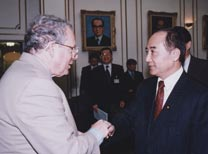 With Wang Jin-pyng, President of the Legislative Yuan